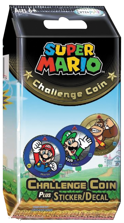 Super Mario Challenge Coin Display (24) Box Front
