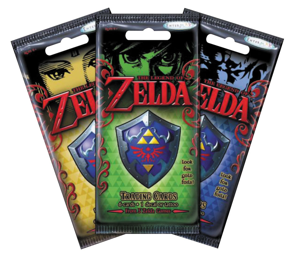 The Legend Of Zelda Trading Cards Value Box Box Front
