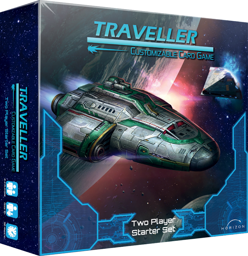 Traveller Ccg: Two Player Starter Set Box Front