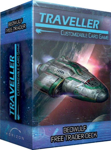 Traveller Ccg: Ship Deck Beowulf Free Trader Box Front