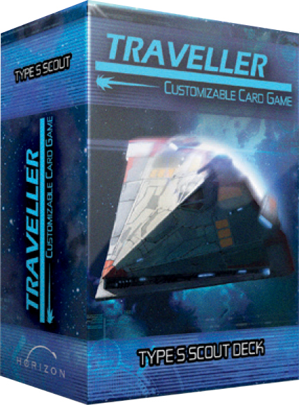 Traveller Ccg: Ship Deck Type S Scout Box Front