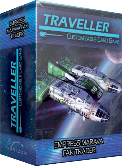Traveller Ccg: Ship Deck Empress Marava Far Trader Box Front
