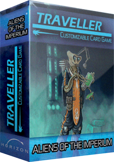 Traveller Ccg: Aliens Of The Imperium Expansion Pack Box Front