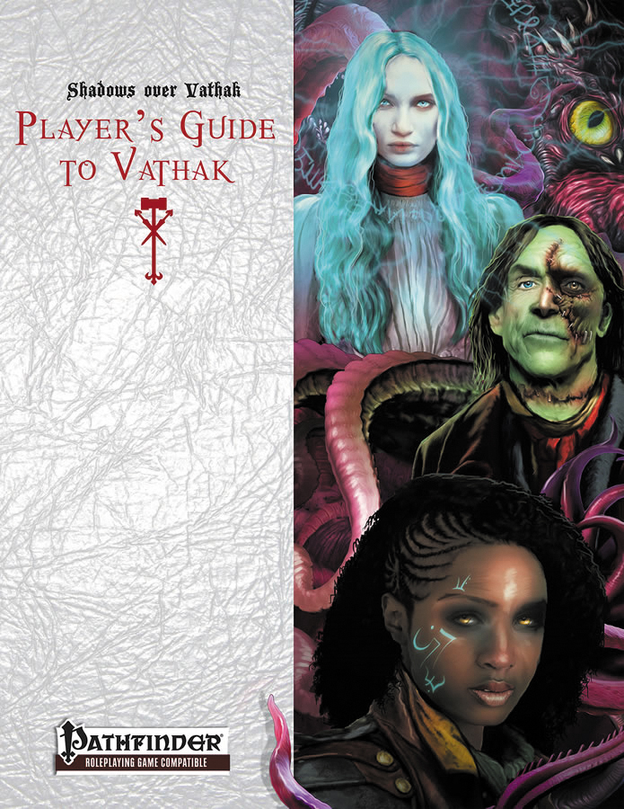 Pathfinder Rpg: Shadows Over Vathak: Player`s Guide To Vathak Box Front