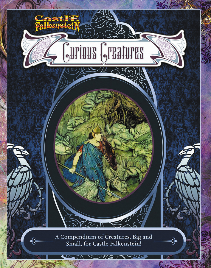 Castle Falkenstein: Curious Creatures Box Front