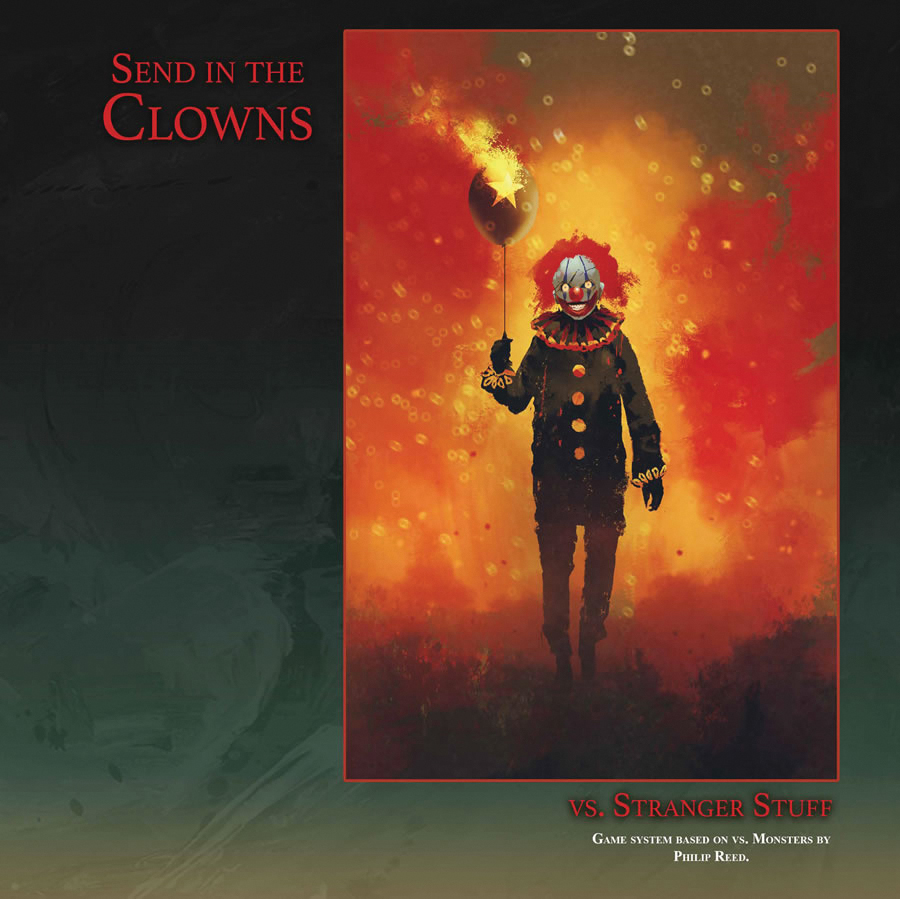 Vs. Stranger Stuff: Send In The Clowns (special Edition) Box Front