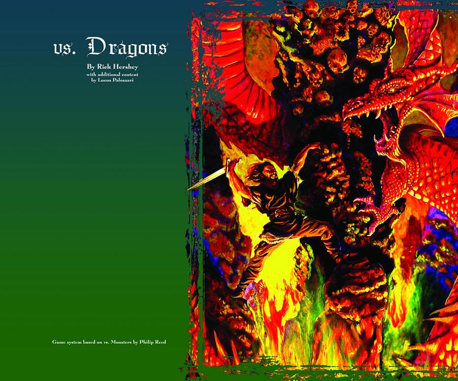 Vs. Dragons Game Box