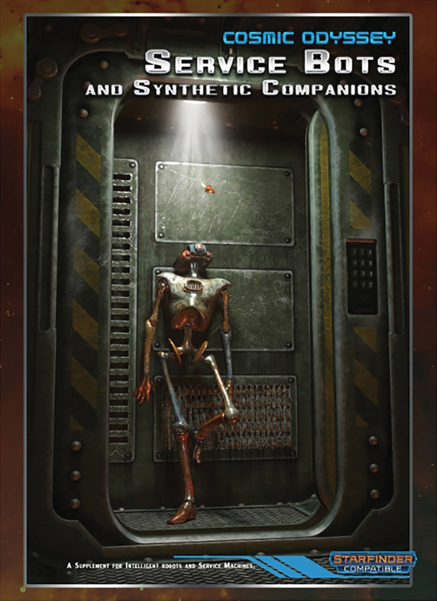 Cosmic Odyssey: Service Bots And Synthetic Companions Box Front