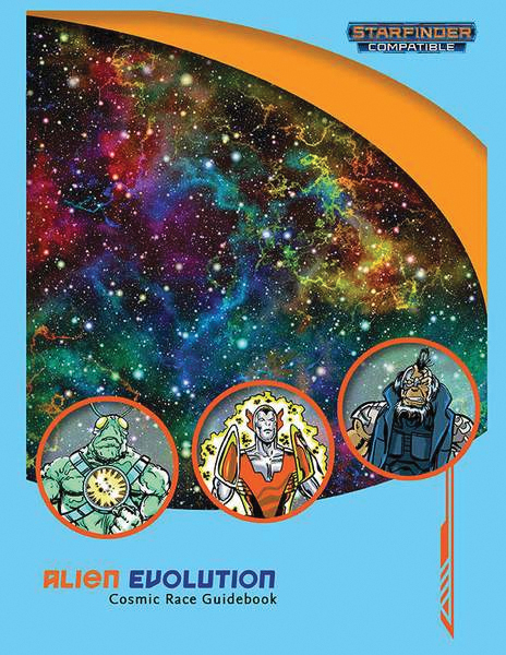 Starfinder Rpg: Alien Evolution - Cosmic Race Guidebook Box Front