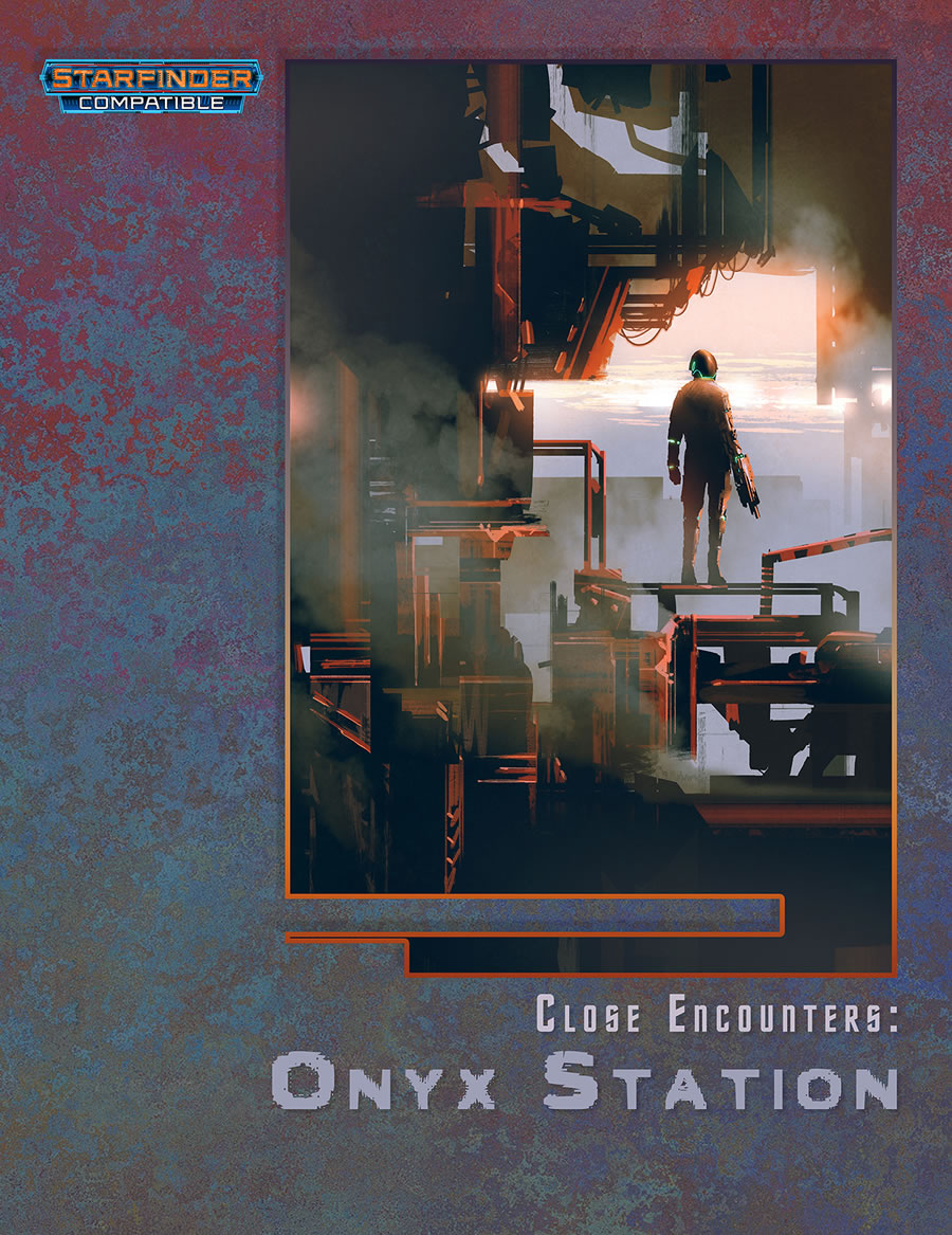 Close Encounters: Onyx Station (starfinder) Game Box