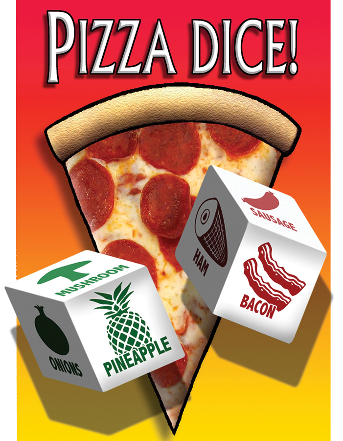 Pizza Dice 16mm (2) Box Front