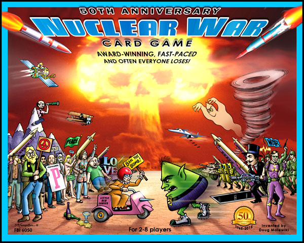 Nuclear War Card Game 50th Anniversary Edition Box Front