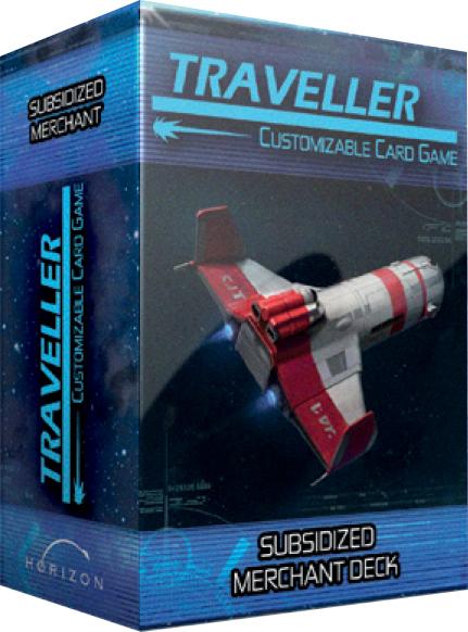 Traveller Ccg: Ship Deck Subsidized Merchant Game Box