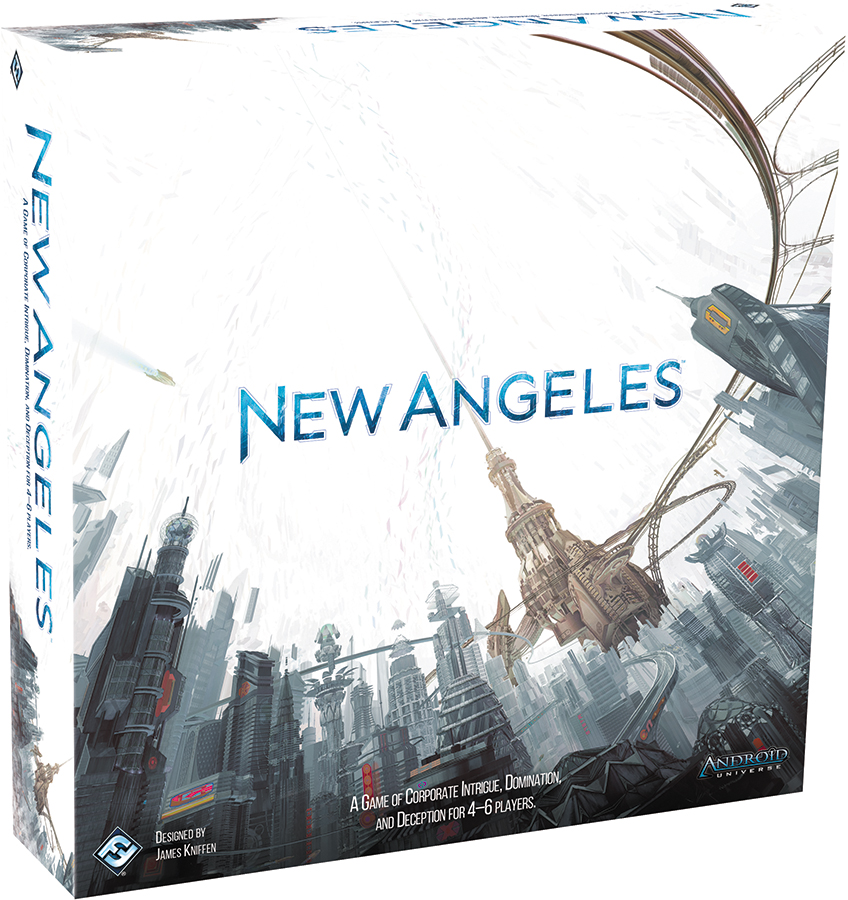 Android: New Angeles (stand Alone) Box Front