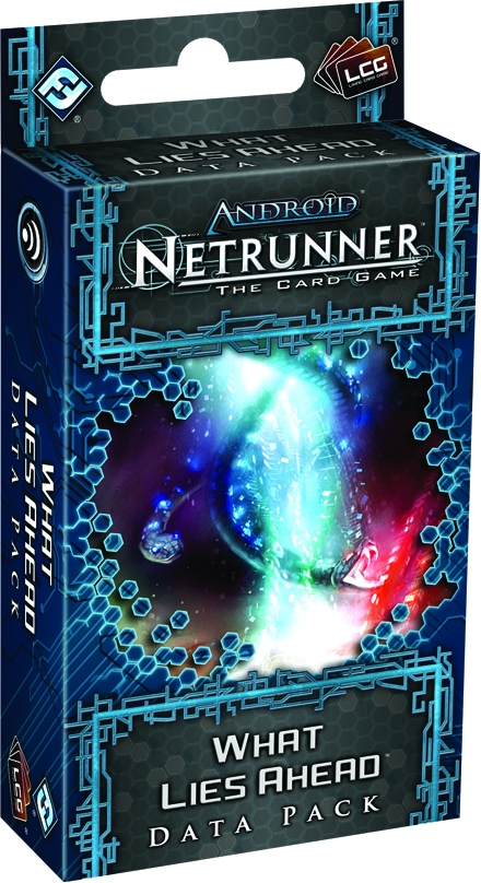 Android Netrunner Lcg: What Lies Ahead Data Pack Box Front