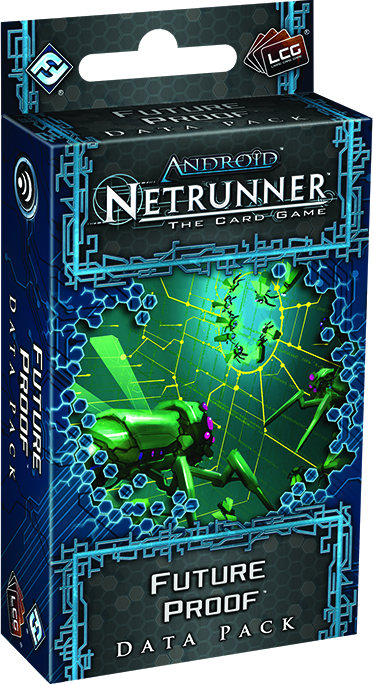 Android Netrunner Lcg: Future Proof Data Pack Box Front