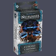 Android Netrunner Lcg: Fear And Loathing Data Pack Box Front