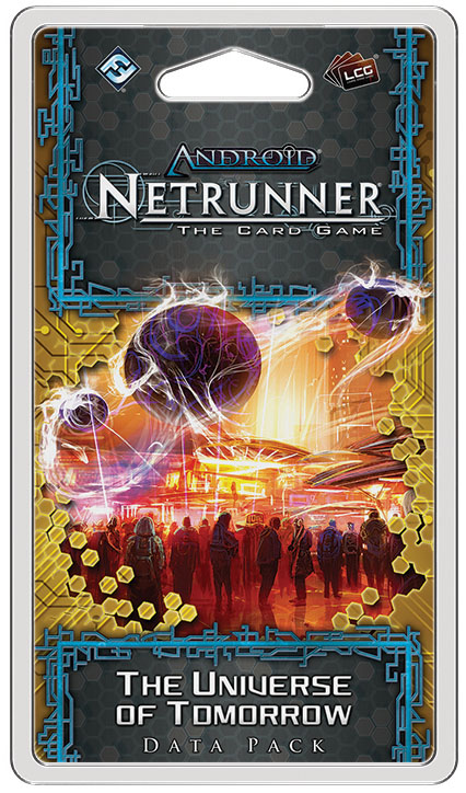Android Netrunner Lcg: The Universe Of Tomorrow Data Pack Box Front