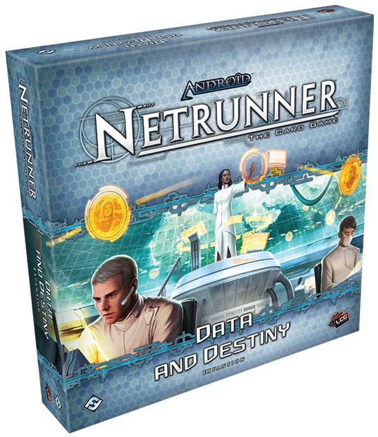 Android Netrunner Lcg: Data And Destiny Expansion Box Front