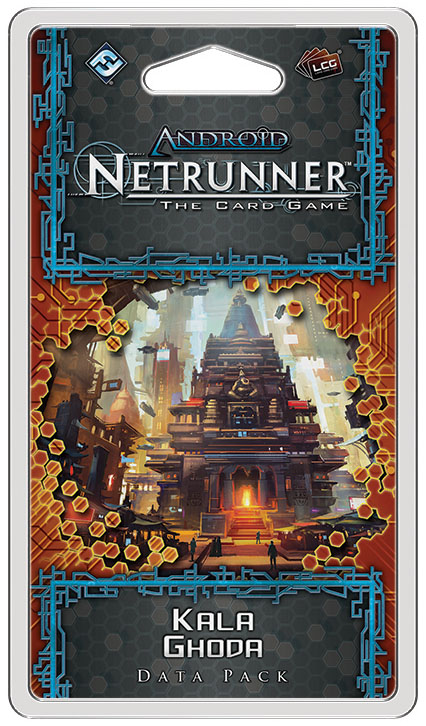 Android Netrunner Lcg: Kala Ghoda Data Pack Box Front