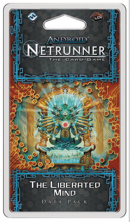 Android Netrunner Lcg: The Liberated Mind Data Pack Box Front