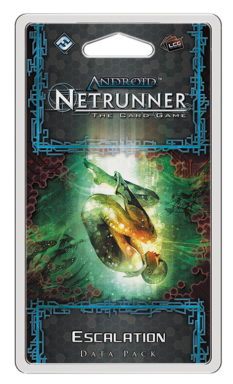 Android Netrunner Lcg: Escalation Data Pack Box Front