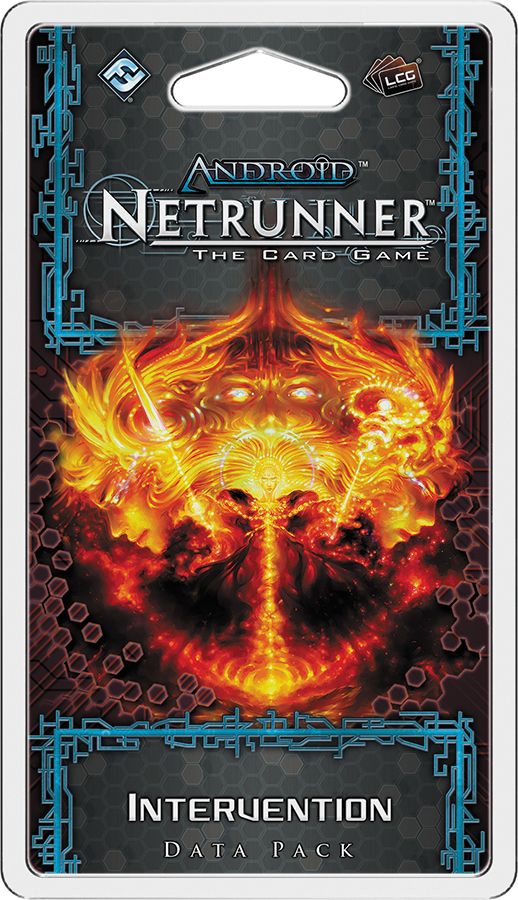 Android Netrunner Lcg: Intervention Data Pack Box Front