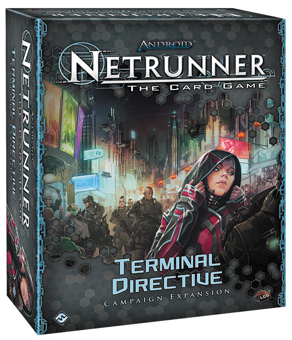 Android Netrunner Lcg: Terminal Directive Expansion Box Front
