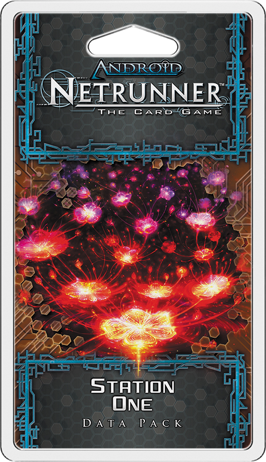 Android Netrunner Lcg: Station One Data Pack Box Front