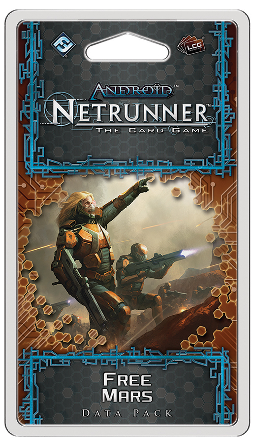 Android Netrunner Lcg: Free Mars Data Pack Box Front