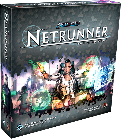 Android Netrunner Lcg: Revised Core Set Box Front
