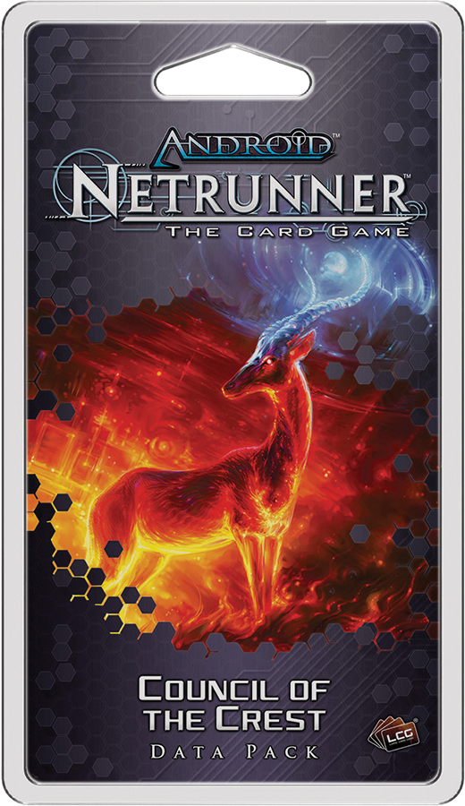 Android Netrunner Lcg: Council Of The Crest Data Pack Box Front