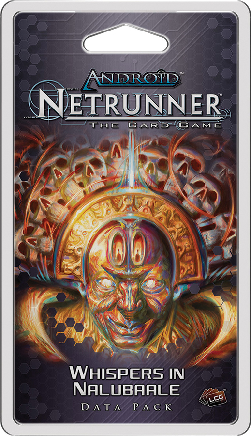 Android Netrunner Lcg: Whispers In Nalubaale Data Pack Box Front