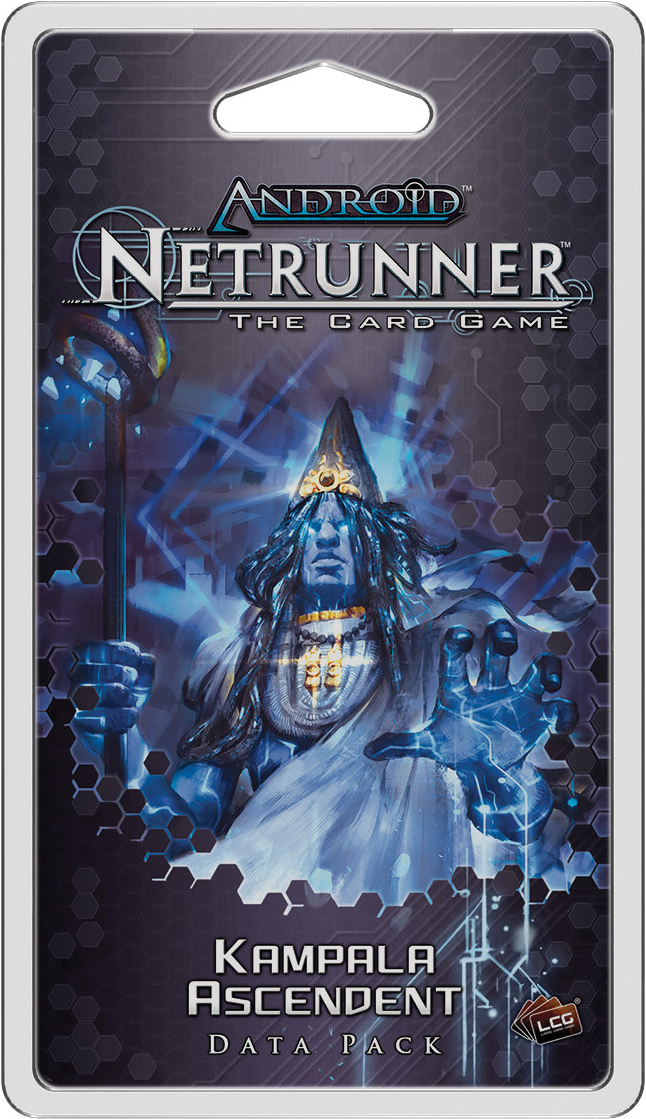 Android Netrunner Lcg: Kampala Ascendent Data Pack Box Front