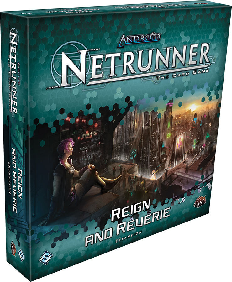 Android Netrunner Lcg: Reign And Reverie Expansion Box Front