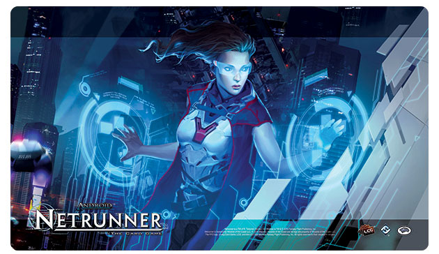 Android Netrunner Lcg: The Masque Playmat Box Front