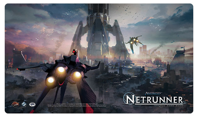 Android Netrunner Lcg: The Root Playmat Box Front