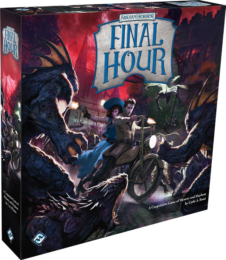 Arkham Horror: Final Hour Game Box