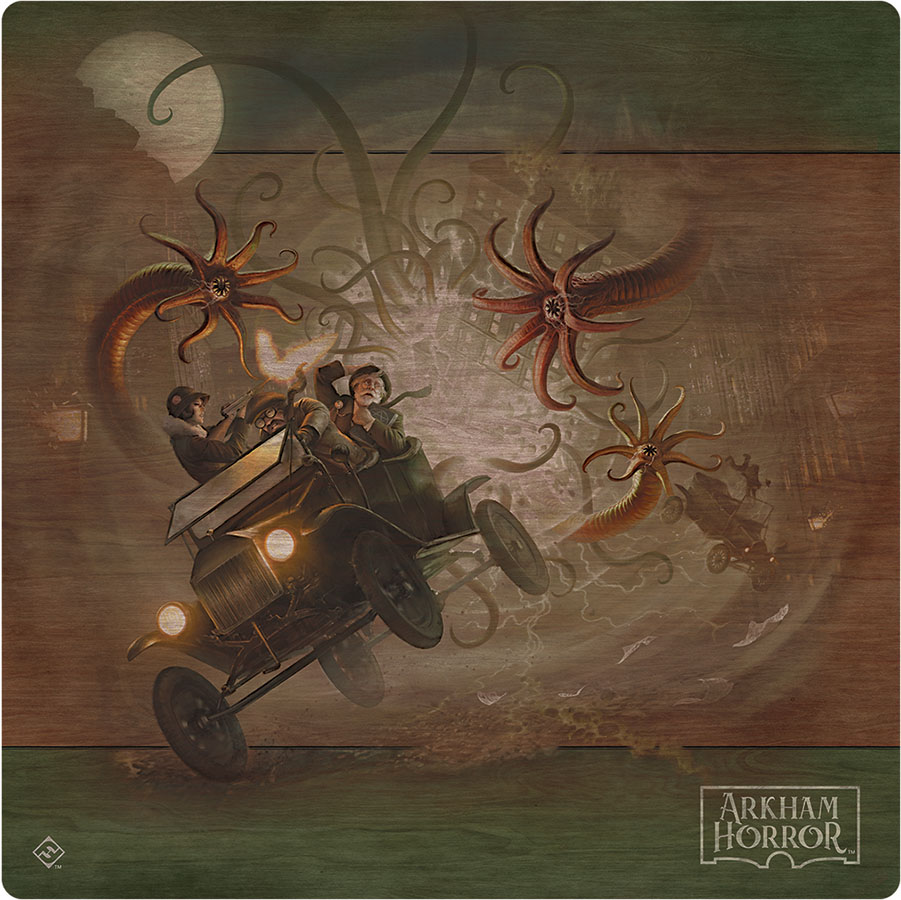 Arkham Horror: 3rd Edition - Gamemat Game Box
