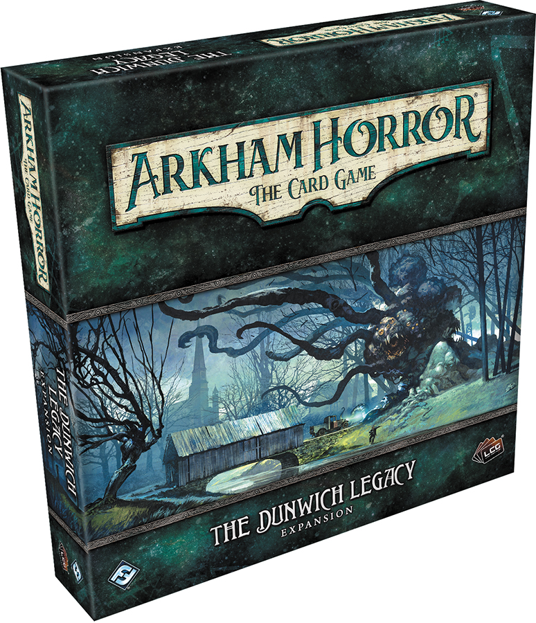 Arkham Horror Lcg: The Dunwich Legacy Expansion Box Front