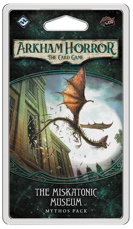 Arkham Horror Lcg: The Miskatonic Museum Mythos Pack Box Front