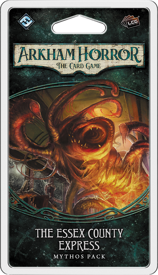 Arkham Horror Lcg: The Essex County Express Mythos Pack Box Front