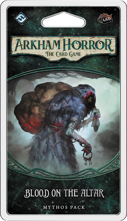 Arkham Horror Lcg: Blood On The Altar Mythos Pack Box Front