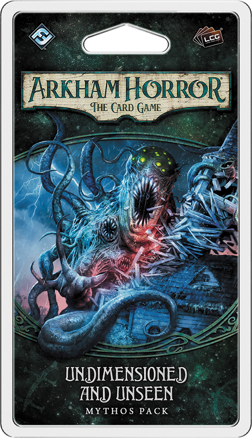 Arkham Horror Lcg: Undimensioned And Unseen Mythos Pack Box Front