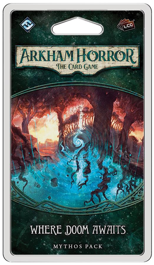 Arkham Horror Lcg: Where Doom Awaits Mythos Pack Box Front