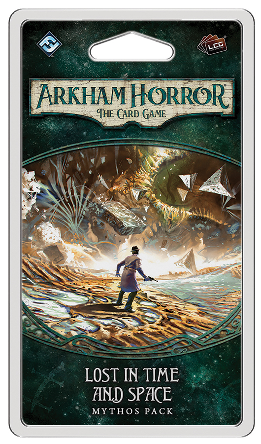 Arkham Horror Lcg: Lost In Time And Space Mythos Pack Box Front