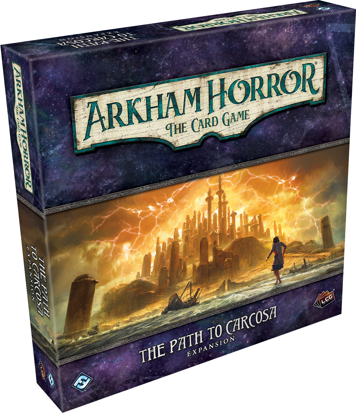 Arkham Horror Lcg: The Path To Carcosa Expansion Box Front
