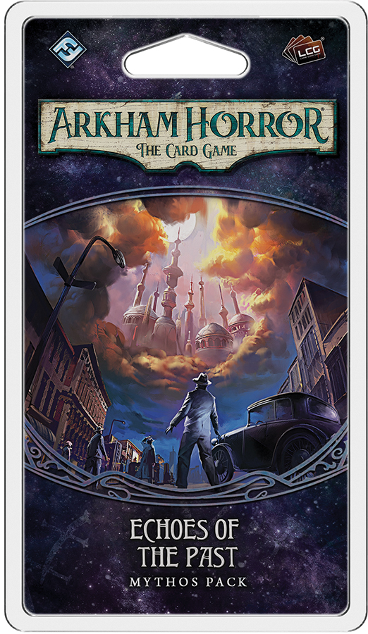 Arkham Horror Lcg: Echoes Of The Past Mythos Pack Box Front
