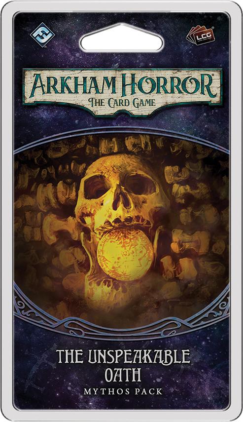 Arkham Horror Lcg: The Unspeakable Oath Mythos Pack Box Front