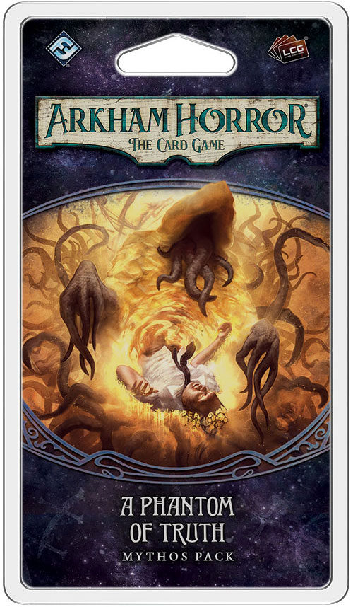 Arkham Horror Lcg: A Phantom Of Truth Mythos Pack Box Front